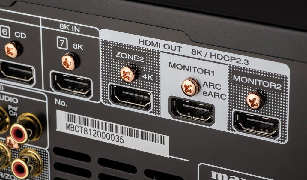 AV K HDMI Ports