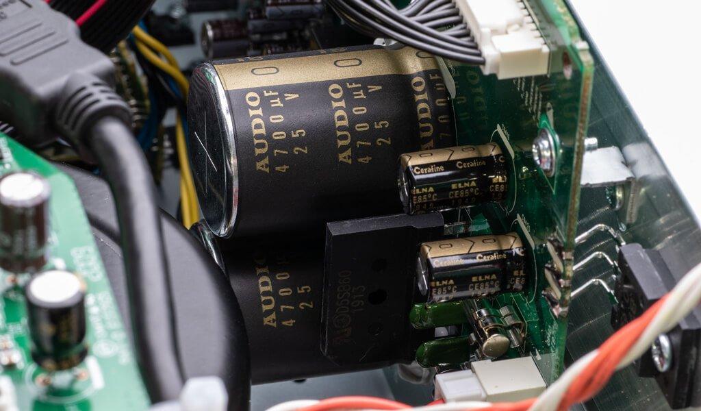 AV Block Capacitors